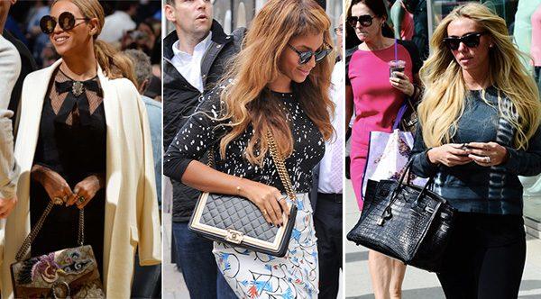 ce5306d7a2c Beyoncé s Top 5 Favorite Handbags