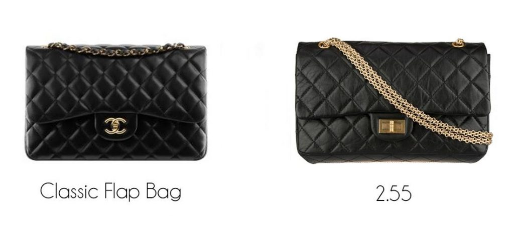 f51955779dff2d It featured a chain strap, a flap with a zippered compartment to put  personal items in, and a the Chanel 2.55 Mademoiselle Lock.